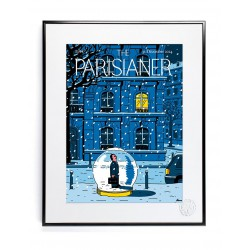 AFFICHE THE PARISIANER SERRE