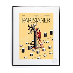 AFFICHE THE PARISIANER ICINORI