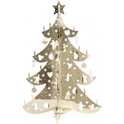 DECORATION SAPIN EN METAL