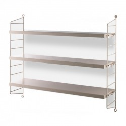 ETAGERE STRING POCKET SABLE