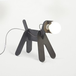 "LAMPE CHIEN ""GET OUT"""