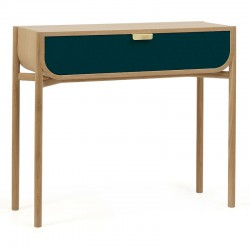 CONSOLE MARIUS BLEU PETROLE                 (exclusivement en magasin)