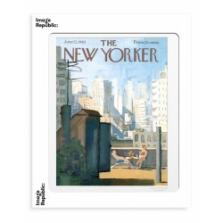 AFFICHE THE NEW YORKER ROOFTOP