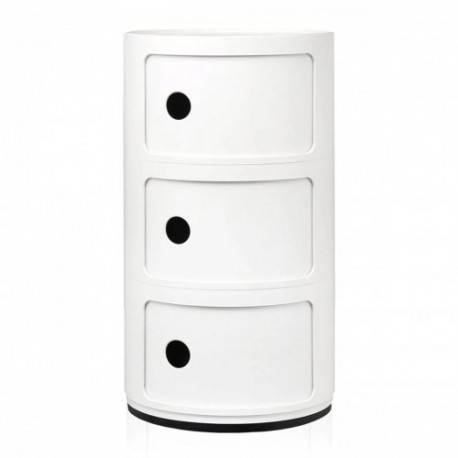 RANGEMENT COMPONIBILI KARTELL 3 OUVERTURES FINITION MATE
