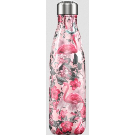 BOUTEILLE ISOTHERME FLAMANTS ROSES CHILLY'S 500 ML