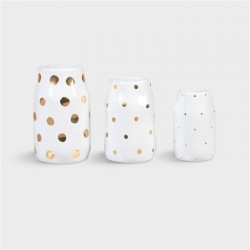SET DE 3 VASES DOTS &KLEVERING