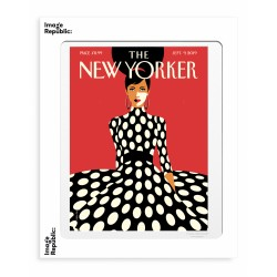AFFICHE THE NEW YORKER SWEEPING INTO FALL