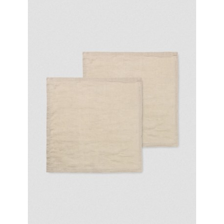 SET DE 2 SERVIETTES EN LIN FERM LIVING