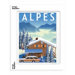 AFFICHE MONSIEUR Z ALPES