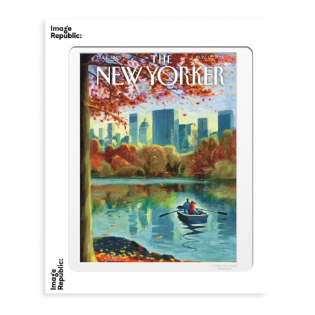 AFFICHE THE NEW YORKER DROOKER ROW BOAT