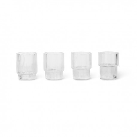 VERRES A SHOT RIPPLE FERM LIVING