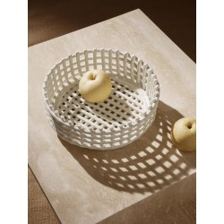 CENTRE DE TABLE CORBEILLE CERAMIC FERM LIVING