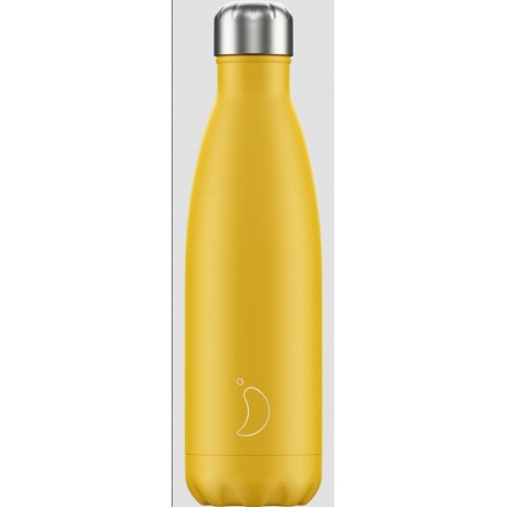 BOUTEILLE ISOTHERME COLOREE CHILLY'S 500 ML