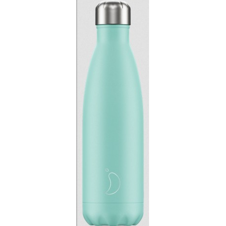 BOUTEILLE ISOTHERME PASTEL CHILLY'S 500 ML