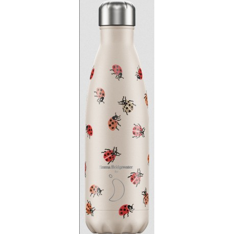 BOUTEILLE ISOTHERME COCCINELLES CHILLY'S 500 ML