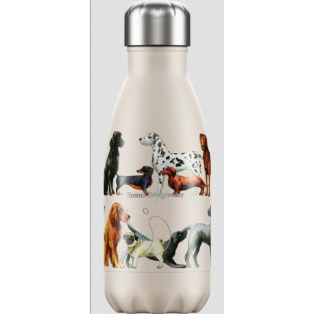 BOUTEILLE ISOTHERME CHIENS CHILLY'S 260 ML