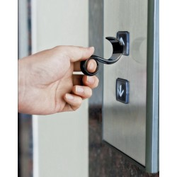 PORTE CLES NOTOUCH STAY SAFE ALESSI
