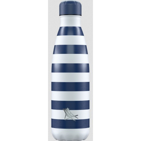 BOUTEILLE ISOTHERME RAYURES CHILLY'S 500ML