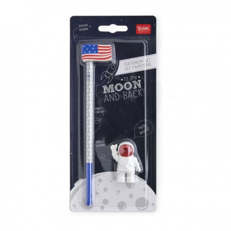 CRAYON ET GOMMES TO THE MOON AND BACK LEGAMI