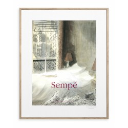 AFFICHE SEMPE CHAT PARIS