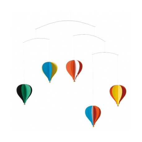MOBILE MONTGOLFIERES