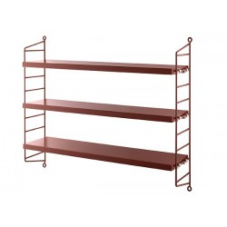 ETAGERE STRING POCKET BORDEAUX