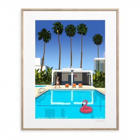 AFFICHE PAOLO MARIOTTI PALM SPRING