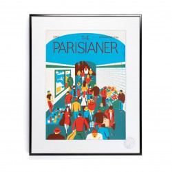 AFFICHE THE PARISIANER MORGAND