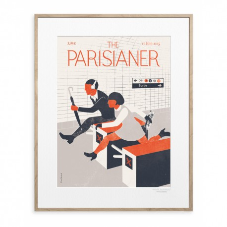 AFFICHE THE PARISIANER GERTRUD