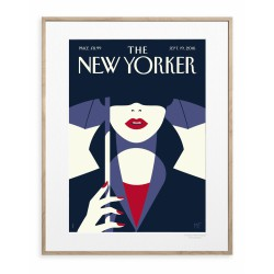 AFFICHE THE NEW YORKER IN THE SHADE