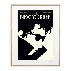 AFFICHE THE NEW YORKER THE LAUREATE