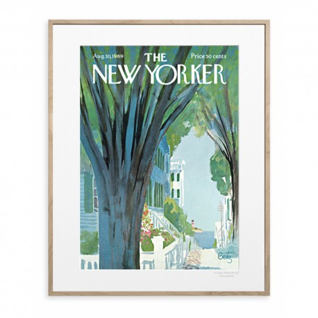 AFFICHE THE NEW YORKER SUMMER TIME