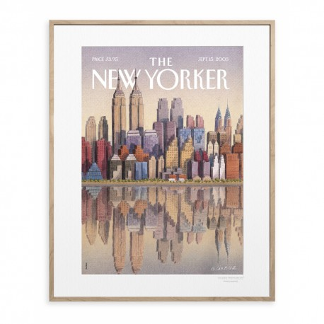 AFFICHE THE NEW YORKER TWIN TOWERS