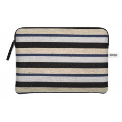 "HOUSSE ORDINATEUR 15"" LUREX STRIPES"