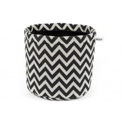 "CACHE-POT NEOPRENE ""ZIGZAG"" GRAND MODELE"