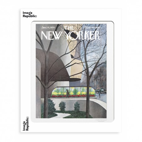 AFFICHE THE NEW YORKER GUGGENHEIM MUSEUM