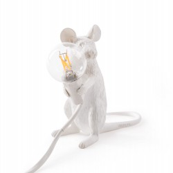 LAMPE A POSER MOUSE ASSISE SELETTI
