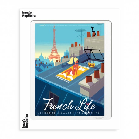 AFFICHE MONSIEUR Z FRENCH LIFE