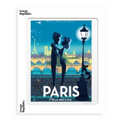 AFFICHE MONSIEUR Z PARIS LOVE