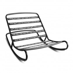 ROCKING CHAIR ROCK N ROLL FATBOY (exclusivement en magasin)