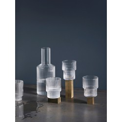 SET DE 4 VERRES RIPPLE FERM LIVING