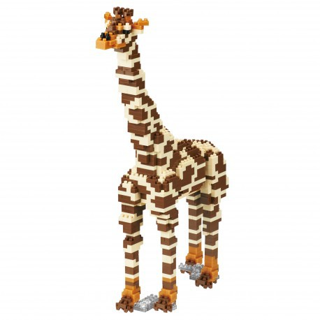 NANOBLOCK GIRAFE EDITION ANIMAL DELUXE