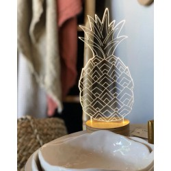 LAMPE LED 3D ANANAS