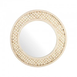 MIROIR CANNAGE ROND &KLEVERING (exclusivement en magasin)