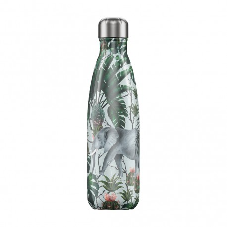 BOUTEILLE ISOTHERME TROPICAL ELEPHANT CHILLY'S 500 ML