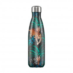 BOUTEILLE ISOTHERME TROPICAL LEOPARD CHILLY'S 500 ML
