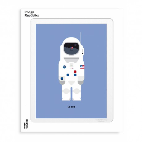 AFFICHE LE DUO NEIL ARMSTRONG