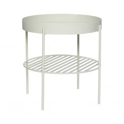 TABLE BASSE GRISE HUBSCH (exclusivement en magasin)