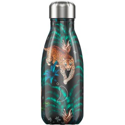 BOUTEILLE ISOTHERME TROPICAL LEOPARD CHILLY'S 260 ML