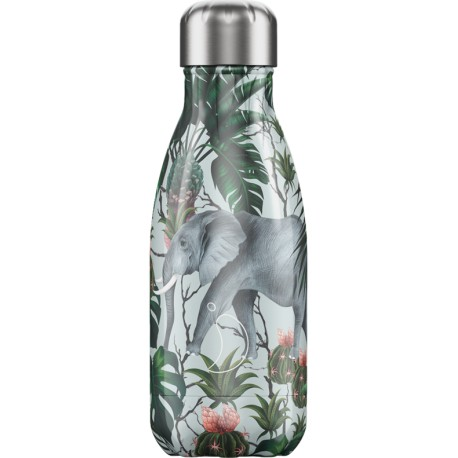BOUTEILLE ISOTHERME TROPICAL ELEPHANT CHILLY'S 260 ML